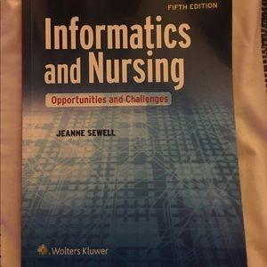 Informatics of nursing text